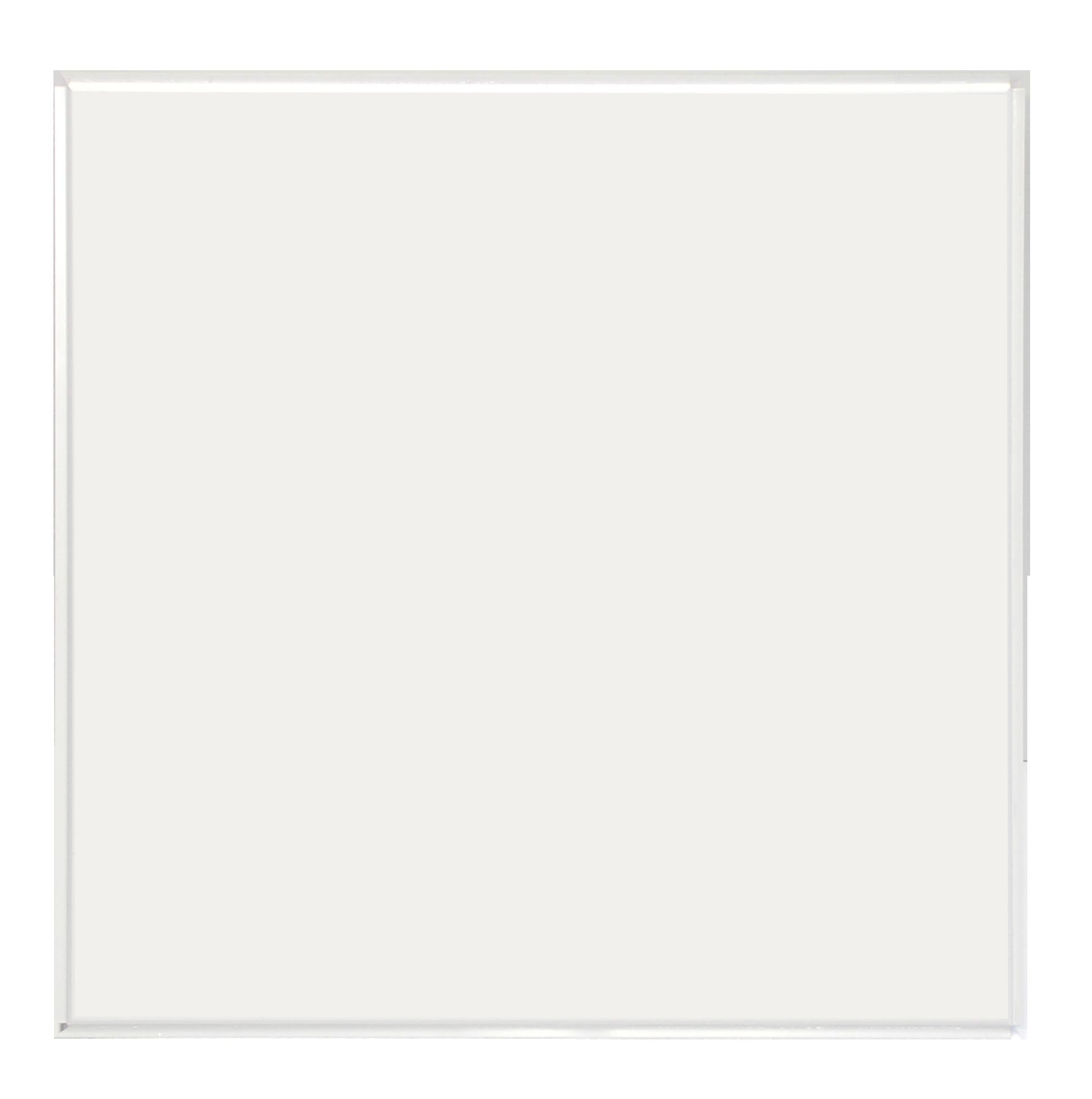 Плита к подвесному потолку кассетная  Албес (кромка Tegular) 600х600 мм белая стальная