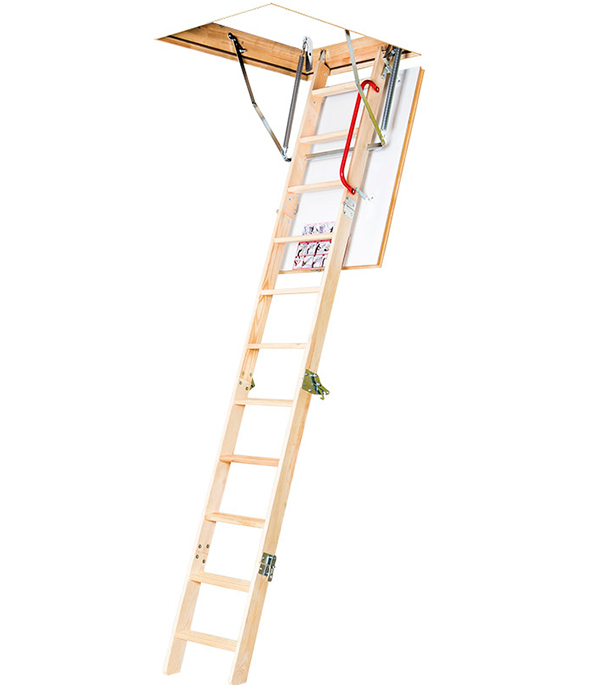 Лестница чердачная 60х120х335 см Komfort Fakro Профи