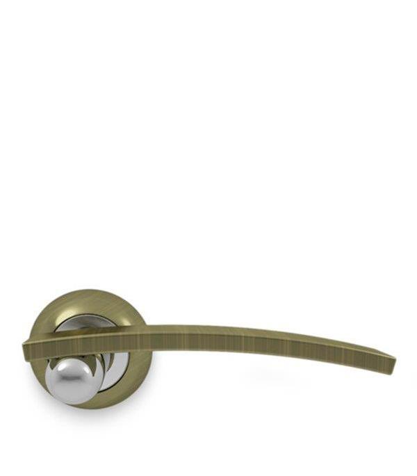 Дверная ручка Palladium Revolution Asolo AB/CP бронза фиксатор palladium city cr bk ab cp бронза