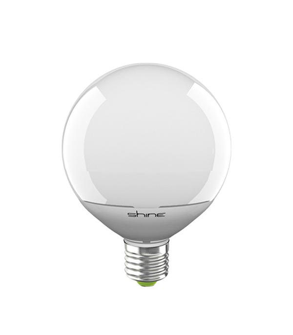 Лампа светодиодная E27, 12W, G95 (шар), 3000K (теплый свет), Shine