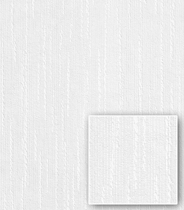"""Обои под окраску флизелиновые фактурные Бумпром 25х1,06 м арт. СБ53БВ08150071-11 Канат белый от Строительный Торговый Дом """"Петрович"""""""