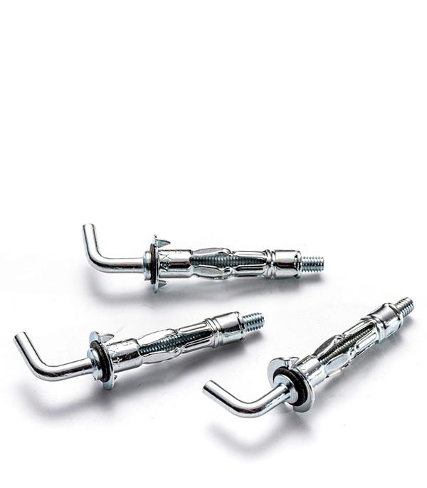 Анкер для листовых материалов 4/10 MOLA (6 шт.) c Г-образным крюком Rawlplug