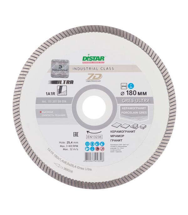Диск алмазный турбо 180x25.4 DI-STAR диск алмазный турбо с лазерной перфорацией 230х22 2 мм gross 73034