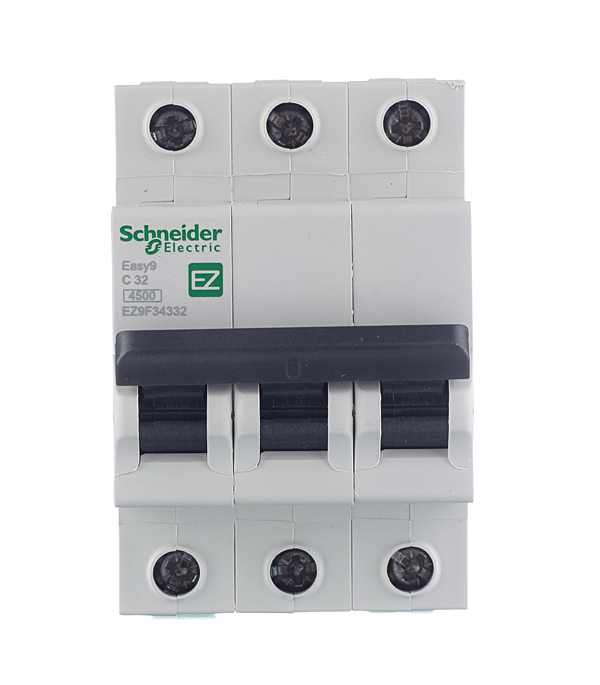 Автомат 3P 32А тип С 4.5 kA Schneider Electric Easy9  автомат 1p 6а тип с 4 5ка schneider electric easy9