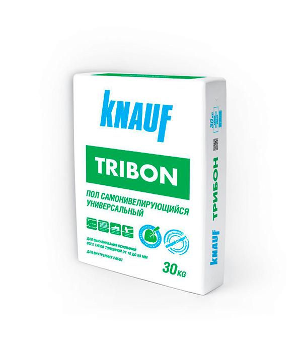 Ровнитель для пола Knauf Трибон самовыравнивающийся 30 кг ровнитель для пола plitonit юниверсал самовыравнивающийся 20 кг