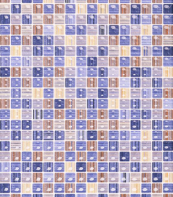 Плитка облицовочная 400х275х7,5 мм Гламур 2Т голубой (15 шт = 1,65 кв.м)