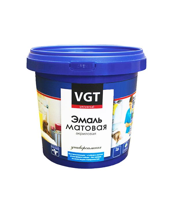 Эмаль акриловая матовая синяя VGT 1 кг восковый состав защитный vgt по венецианской штукатурке 0 9 кг