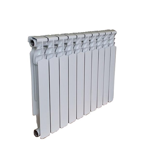 """Радиатор биметаллический 1"""" Ecoflow 80 Bm 500, 10 секций"""