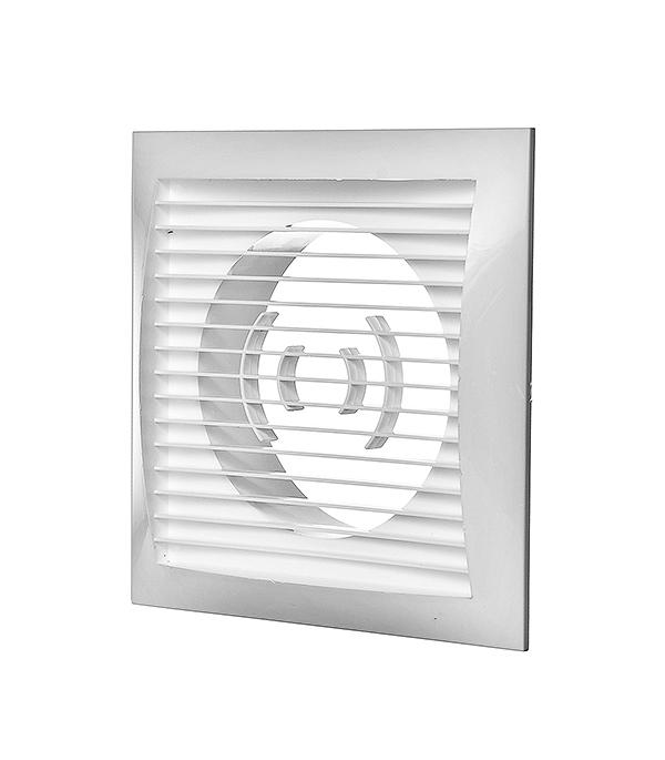 Вентиляционная решетка торцевая 150х150 мм для круглых воздуховодов d100 мм