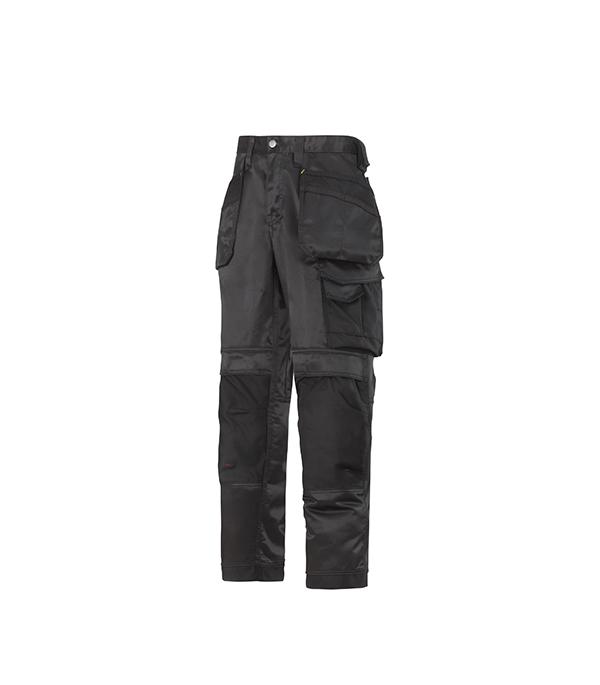 Брюки черные, размер 48, рост 170-182 Snickers workwear Профи