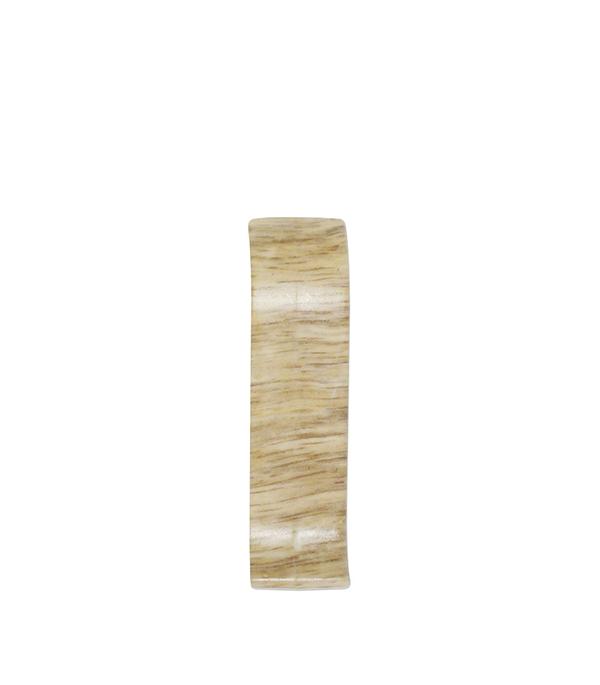 СоединительWimar 58 ммдубпальмира(2 шт) плинтус пвх royal 76мм дуб светло серый 2 5м