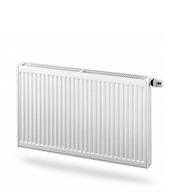 Радиаторстальнойтип22500х 600мм(нижнееподключение)Purmo VentilCompact радиатор стальной purmo compact тип 22 500х800 мм