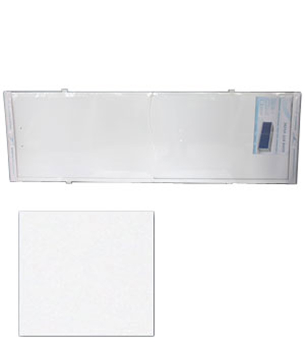 Экран для ванн Оптима пластик белый 1700 мм