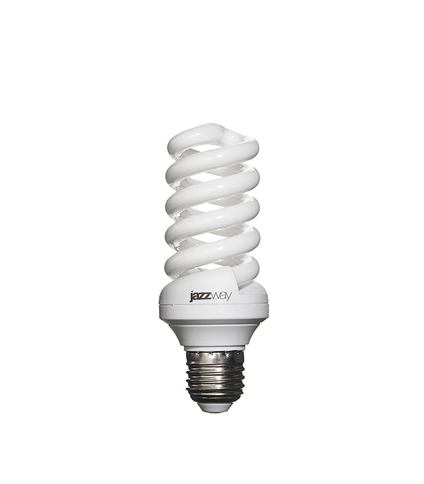 Лампа энергосберегающая  E27 20W SF ЭКО 2700K Jazzway