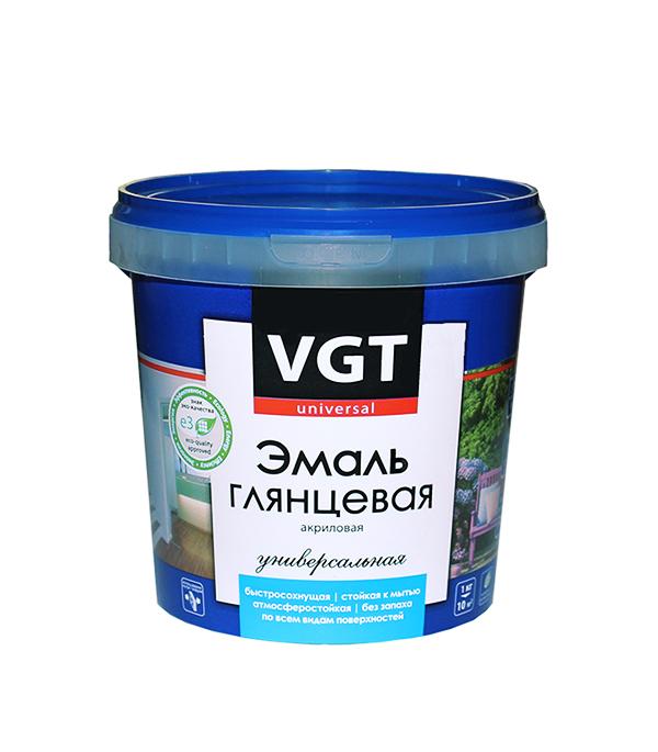 Эмаль акриловая глянцевая шоколадная VGT 1 кг оборудование для окраски авто цены