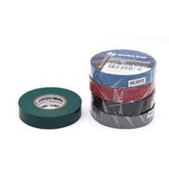 Изолента ПВХ зеленая 15 мм х 20 м