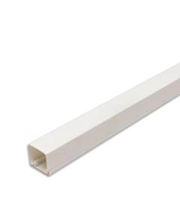 Кабель-канал 12х12 мм белый 2 м  заглушка legrand для кабель канала 40х12 5 белый 31204