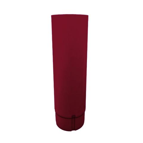 Труба водосточная металлическая d90 мм  вишня 1 м Grand Line