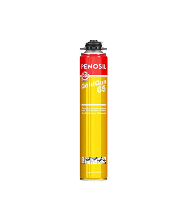 Пена монтажная Pеnosil GoldGun 65 профессиональная 875 мл монтажная пена летняя makroflex shaketec 65 pro 850мл