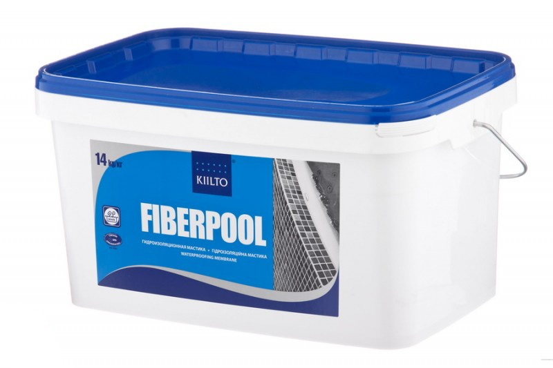 Фиберпул гидроизоляционная мастика 14 кг