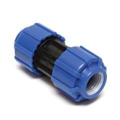Муфта ПНД компрессионная 20х20 мм