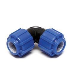 Угол ПНД компрессионный 32х32 мм