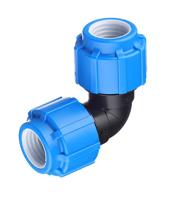 Угол ПНД компрессионный 32х32 мм угол пнд компрессионный 20х20 мм