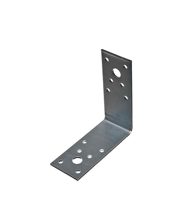 Уголок крепежный оцинкованный 90х90х40х2 мм крепежный уголок 90х90 ширина 65мм