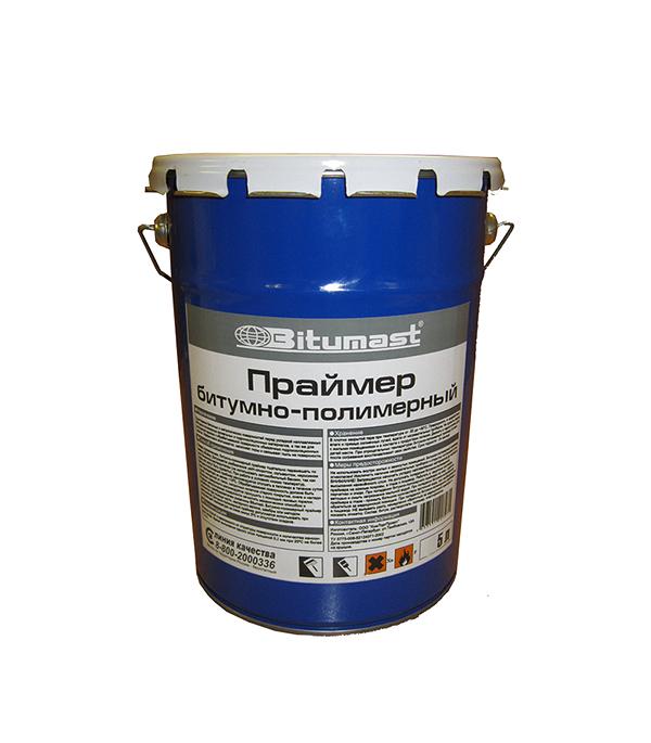 Праймер битумно-полимерный Bitumast 4 кг/5 л гидроизоляция акриловая bitumast 20 кг