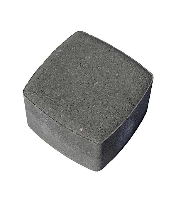 Плитка тротуарная Брусчатка (классика) 115х115х80 мм серая