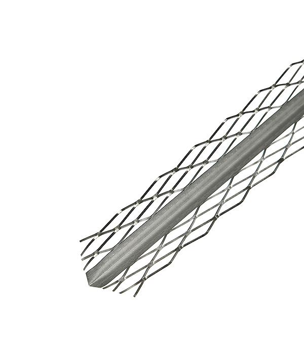 Профиль углозащитный штукатурный сетчатый (оцинкованный) 31х31 мм, 3 м