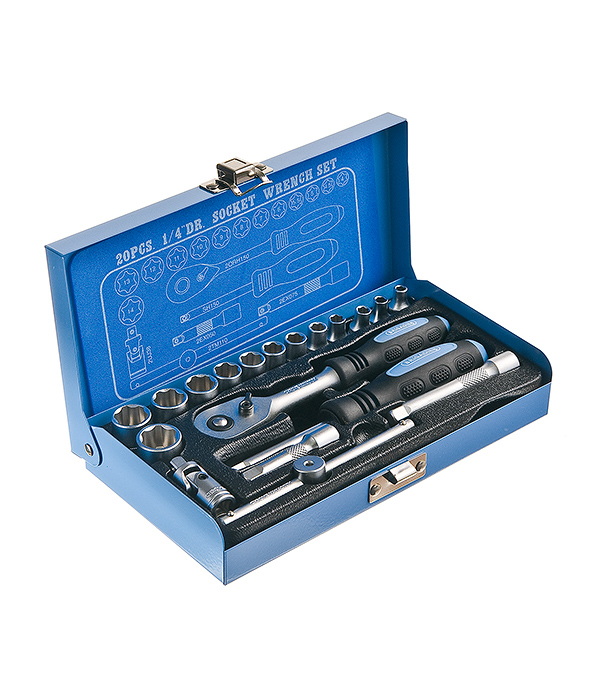 Набор инструментов 20 предметов ключ jtc 1714