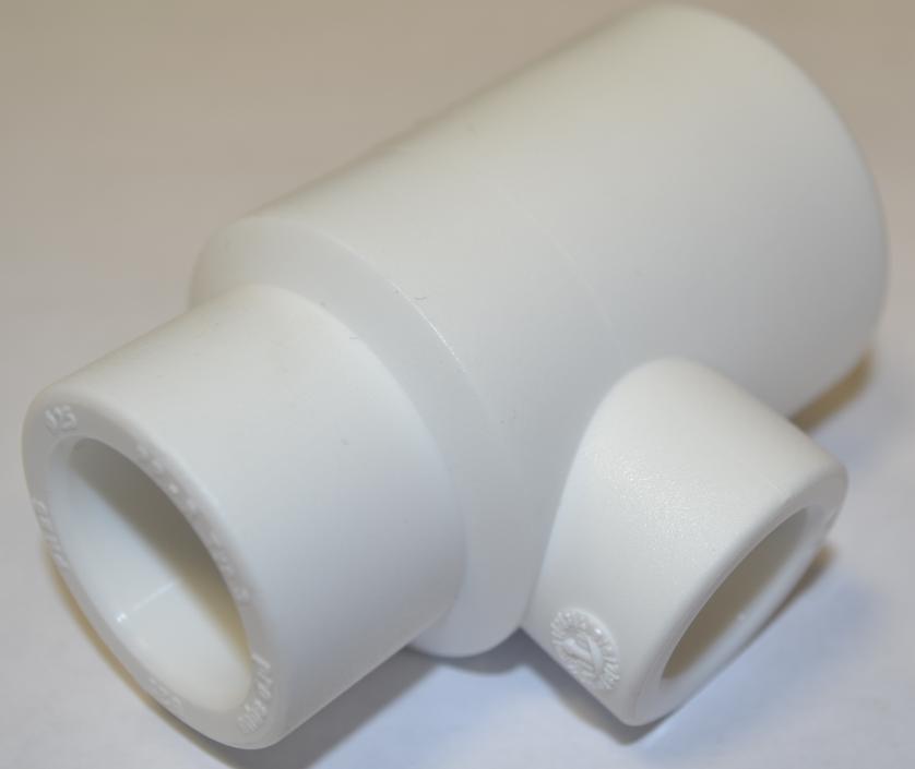 Тройник полипропиленовый переходный 32х20х25 мм