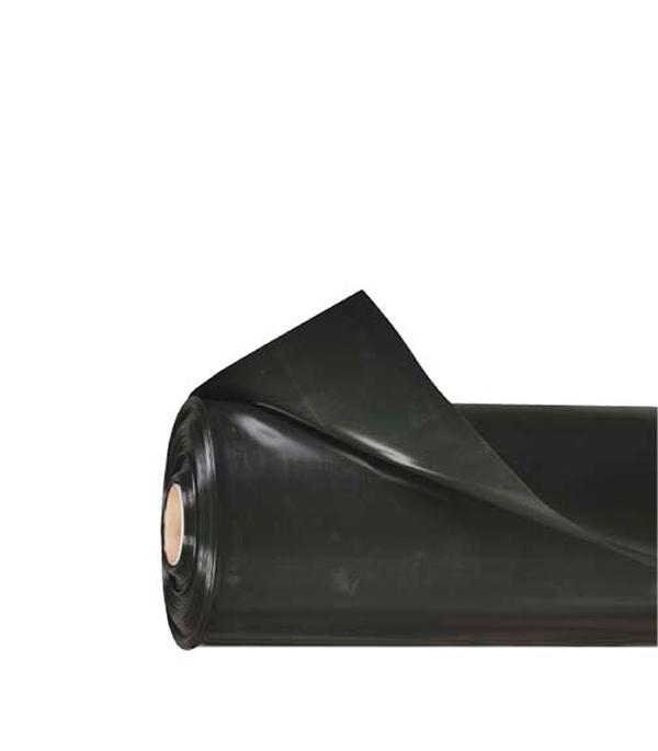Пленка черная полиэтиленовая Эконом 80 мк 1.5 м рукав пленка для фар черная