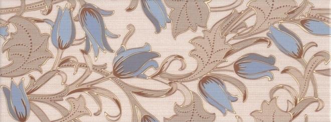 Плитка облицовочная 150х400х8 мм Фестиваль тюльпанов голубой (22 шт = 1,32 кв.м)