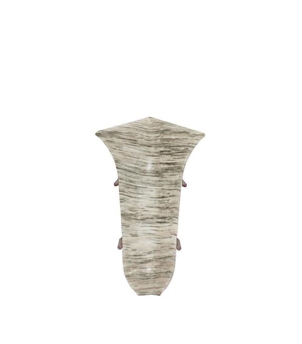 УголвнутреннийWimaг 58 мм дубальба (2 шт) плинтус пвх royal 76мм дуб светло серый 2 5м