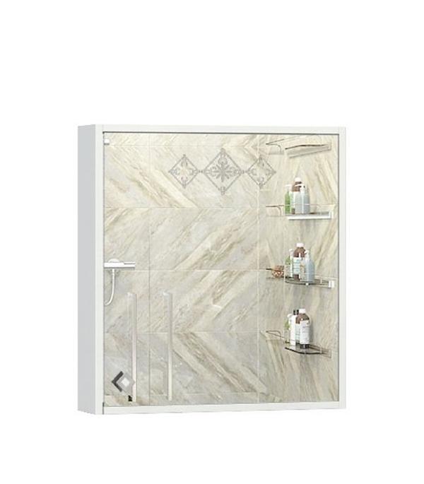 Шкаф зеркальный Ингениум Accord правый со светильником 470 мм  ingenium eunice eun 600 11 белый глянец