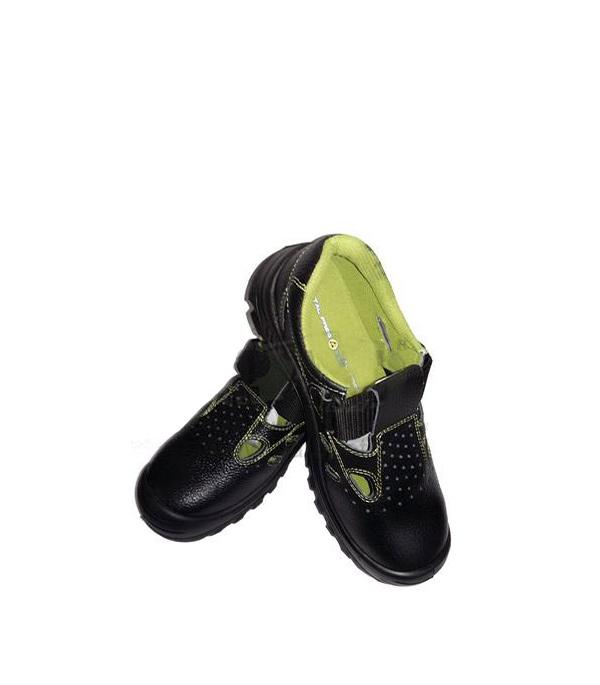 Сандалии кожаные (композитный защитный носок), размер 41