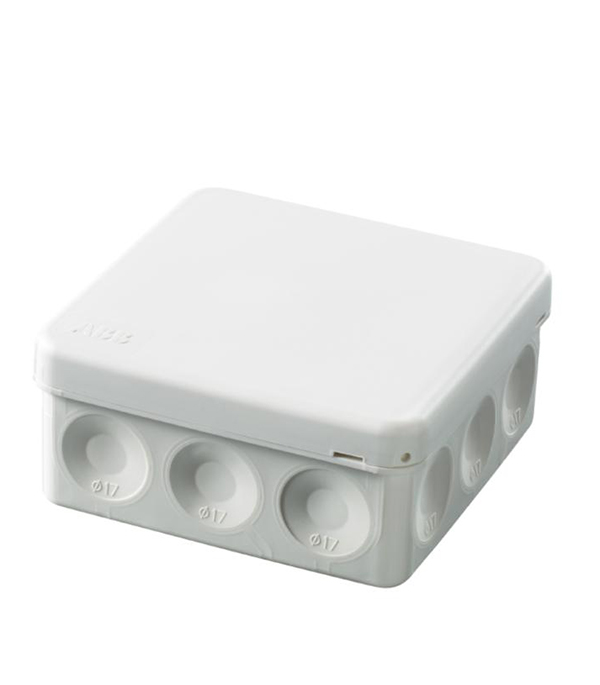 Коробка разветвительная о/у 12 вводов, 86х86x40, AP9, серая, АВВ