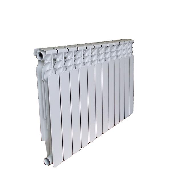 """Радиатор биметаллический 1"""" Ecoflow 80 Bm 500, 12 секций"""