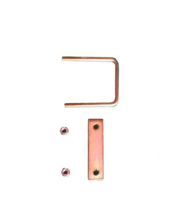 Крепление сетки/секции заборной  к столбам 50х50 мм (3 шт.)
