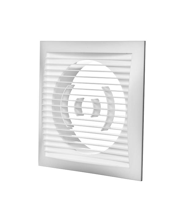 Решетка вентиляционная торцевая 170х170 мм для круглых воздуховодов d125 мм