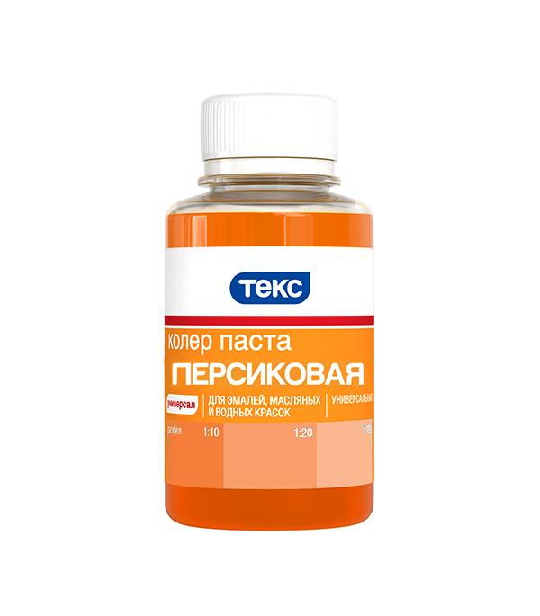 Колер паста универсальная персиковая №12 Текс 0,1 л