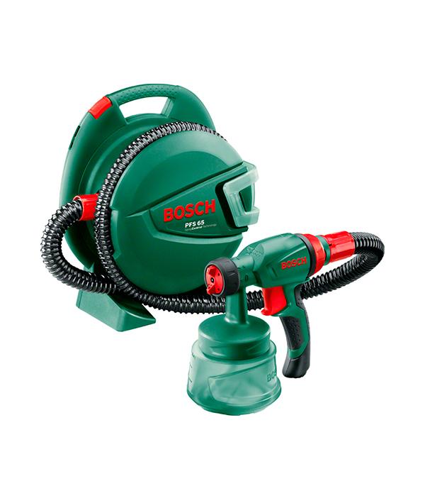 Краскораспылитель (краскопульт) PFS 65, 280 Вт, 0,6 л, 0-130 г/мин Bosch