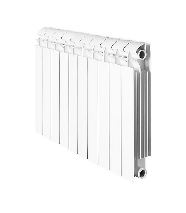 Радиатор биметаллический 1 GLOBAL Style Plus 500, 10 секций радиатор отопления global алюминиевые vox r 500 12 секций
