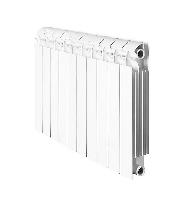 Радиатор биметаллический 1 GLOBAL Style Plus 500, 10 секций global global style plus 500 11 секций радиатор