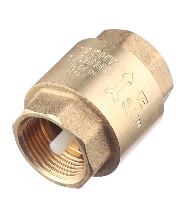 Клапан обратный  3/4  внутр(г) Tiemme аквалого aqualogo клапан обратный для компрессора 3 шт