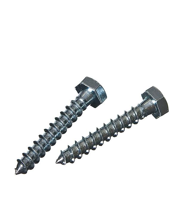 Болты сантехнические оцинкованные 8х50 мм DIN 571 (25 шт) болты сантехнические оцинкованные 8х70 мм din 571 20 шт