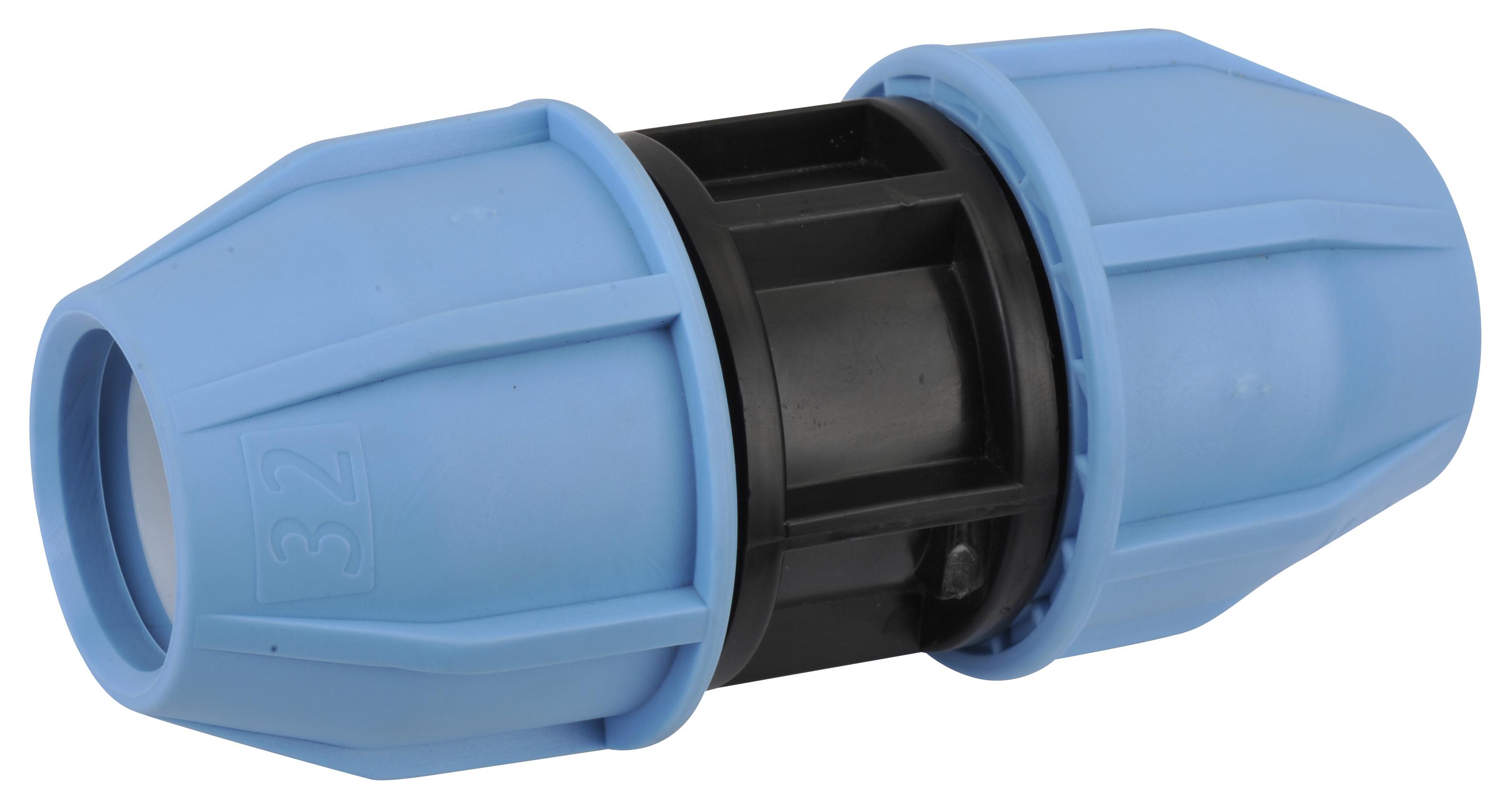 Муфта компрессионная PN16 d 32 для ПЭ труб, РТП