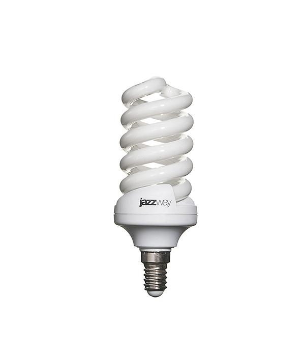 Лампа энергосберегающая  E14 20W SF ЭКО 2700K Jazzway